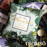 TROMSO奢華時尚叢林棉麻抱枕U181尊爵金葉