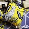 TROMSO奢華義大利棉麻抱枕U178輝煌花豹