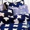 AGAPE 亞加貝 歐洲騎士 法蘭絨雙人加大四件式兩用被毯床包組法蘭絨四件組6X6.2尺