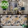 【佶之屋】DIY立體3D仿真石紋木紋自黏壁貼 45x600cm石磚A
