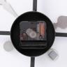 HOLA home懷特羅馬數字工業風金屬掛鐘