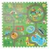 樂格環保巧拼墊 動物遊樂園 60x60x2cm 4入