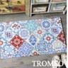 TROMSO北歐圈絲門口刮泥地墊-奢華紅花磚