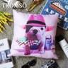 TROMSO品味英倫棉麻抱枕/紳士法鬥