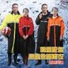 金德恩 達新牌 前開式韓風達新將混色連身雨衣XL-4XL/多色可選黃色3XL