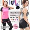 【Incare】運動女孩-舒適透氣速乾瑜珈運動套裝-4件組(4色可選)粉-L碼