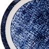日本藍印圓盤21cm紋理