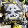 TROMSO奢華義大利棉麻抱枕U176輝煌雙孔雀