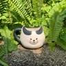 日本 sunart 馬克杯 - 厭世黑白貓