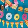 DOIY|派對掛旗(漢堡包)