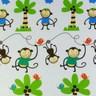 彩繪通用型馬桶蓋-小猴樂園