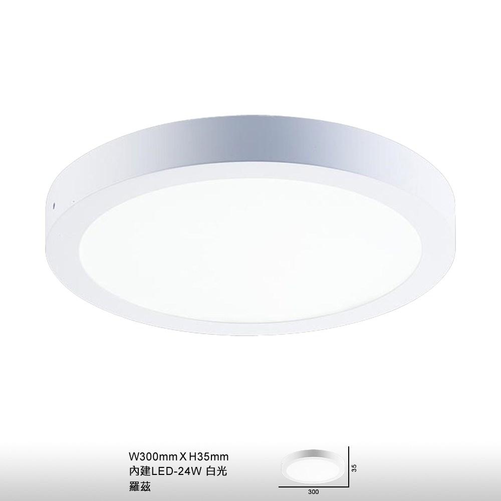 【大巨光】現代風24W內建LED吸頂燈-小(BM-22181)