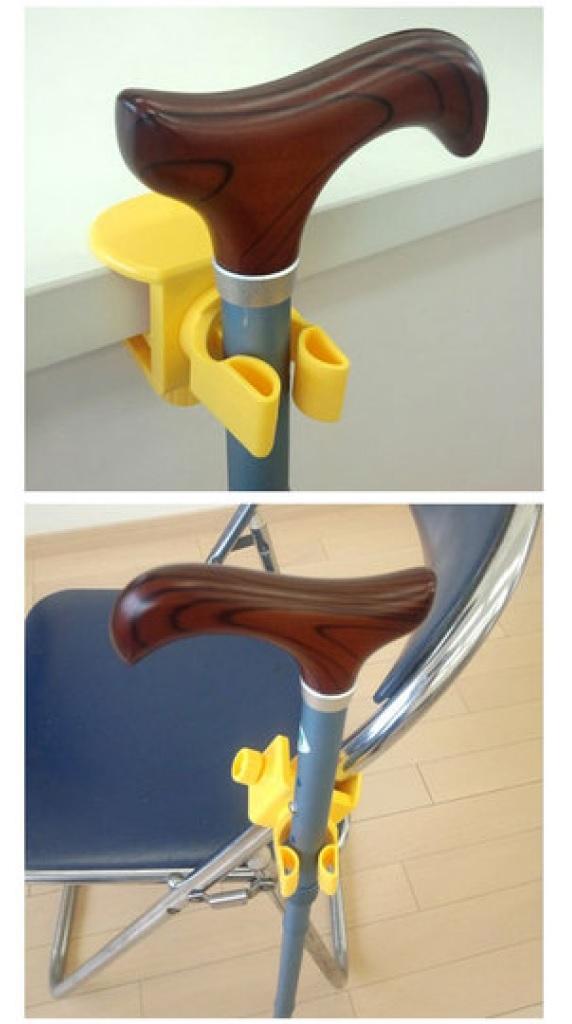 【老人當家 海夫】SANSEI 旋栓式 杖型 吊掛架