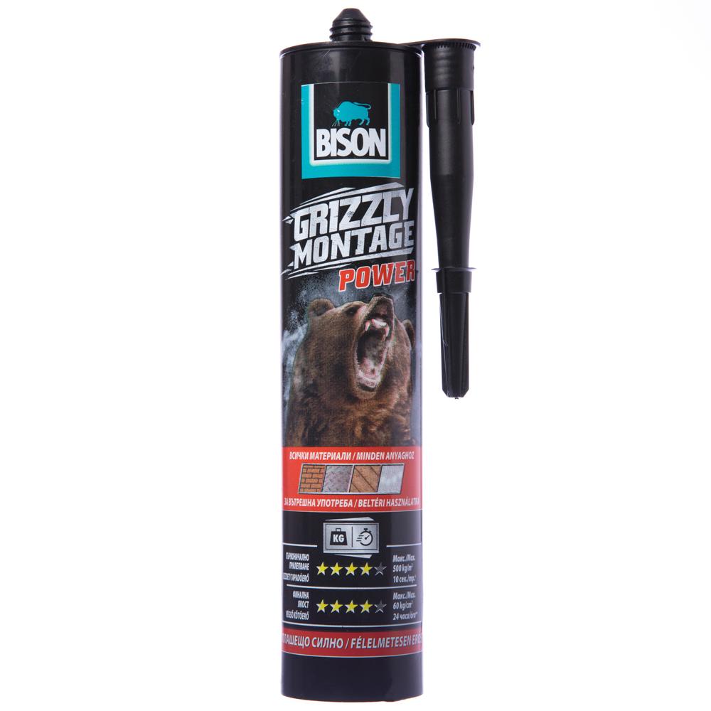 [特價]BISON 灰熊 10秒快速接著強力萬用膠 370g 室內用 白色