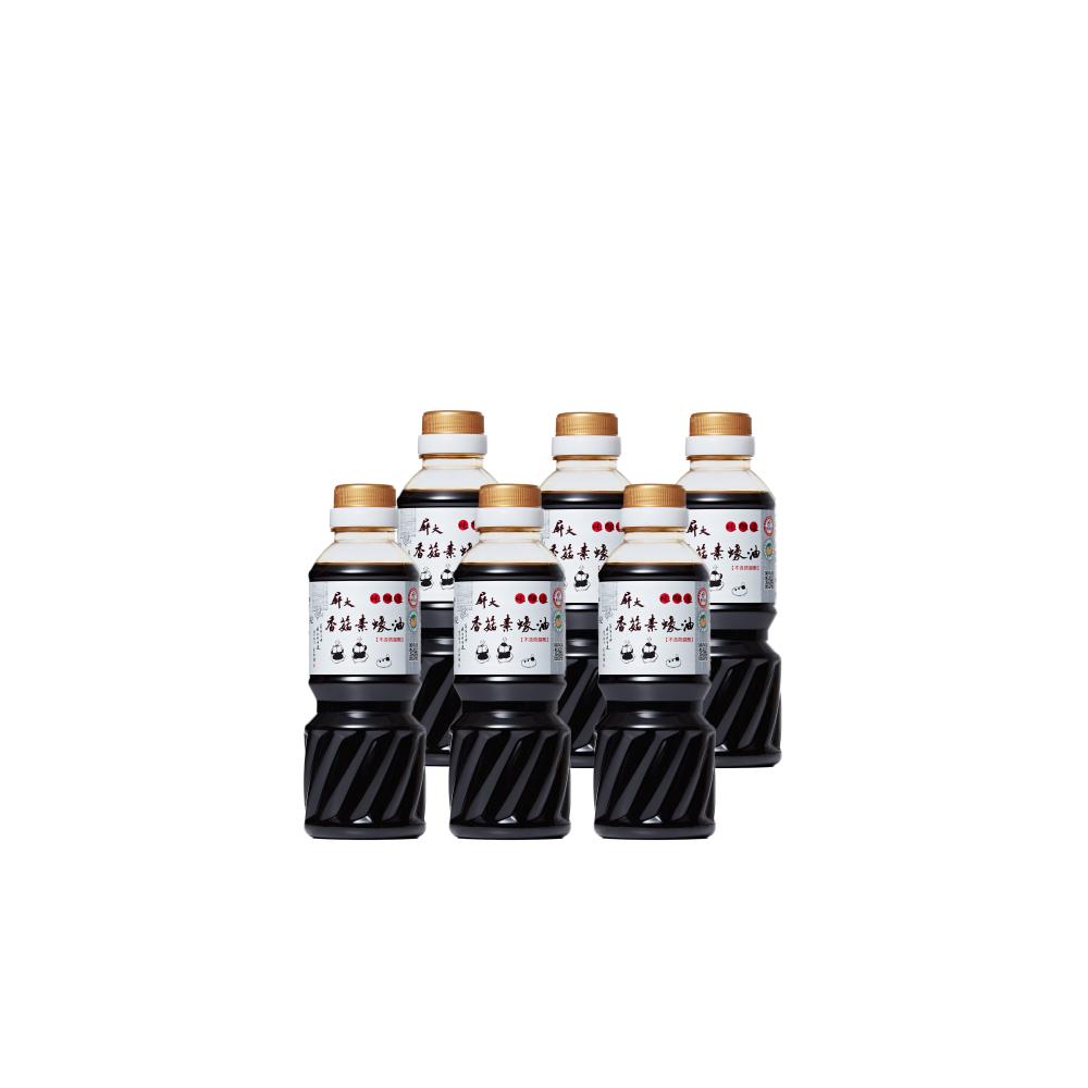 [特價]屏大香菇素蠔油(300mlx6瓶)