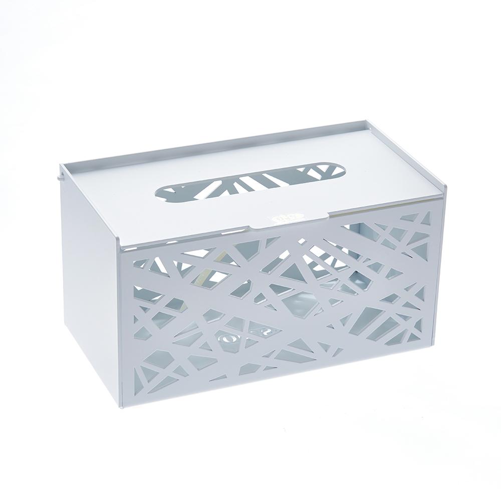 [特價]OPUS 金屬工藝面紙盒/抽取式面紙套/收納盒(方巢 白)