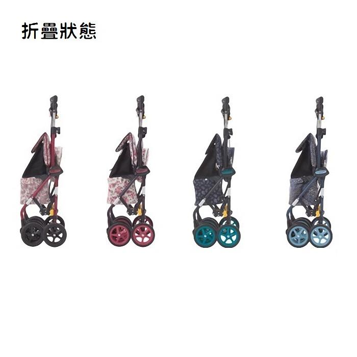 (複製)【老人當家 海夫】象印 銀髮族休閒購物車 佩斯利漩渦(海軍藍)