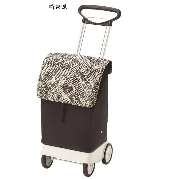 (複製)【老人當家 海夫】象印 銀髮族 輕鬆提購物車 W138 (時尚黑)