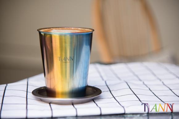 鈦杯 純鈦杯 鈦餐具  純鈦餐具 TiANN Titanium cup